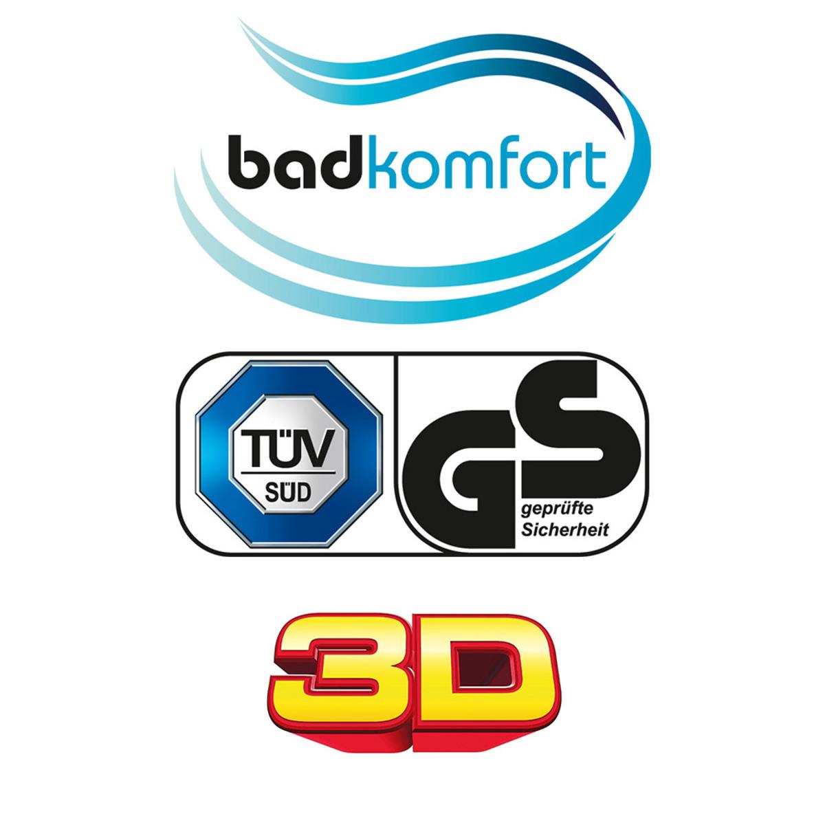 Bild 2 von Badkomfort 3D-WC-Sitz - Orchidee
