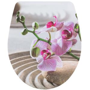 badkomfort WC-Sitz Slim, Orchidee
