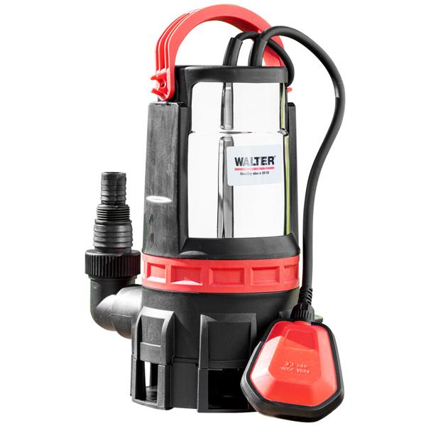 Walter 2in1 Schmutz- und Klarwasserpumpe 750 W