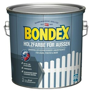 Bondex Holzschutzfarbe für Außen