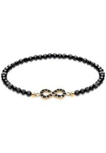 Elli Armband Infinity Kristalle 925 Silber Noir