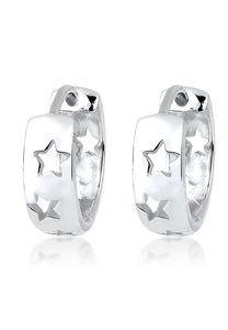 Elli Paar Creolen Creolen Sterne Astro Trend 925 Silber