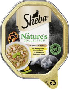 Sheba Nature´s Collection in Sauce mit Huhn