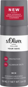 s.Oliver Men Deodorant & Bodyspray Follow Your Soul