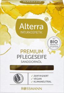 Alterra NATURKOSMETIK Premium Pflegeseife Sanddornöl