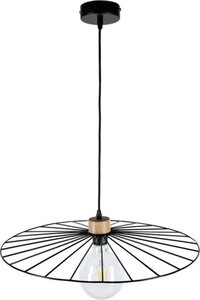 BRITOP LIGHTING Pendelleuchte »ANTONELLA«, Hängeleuchte, Originelle Leuchte aus Metall und Eichenholz, Passend LM E27, Kabel kürzbar, Made in Europe