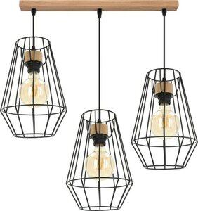 BRITOP LIGHTING Pendelleuchte »ENDORFINA«, Hängeleuchte, Modernes Design, mit edlem Eichenholz, Nachhaltig - FSC®-zertifiziert, Made in EU