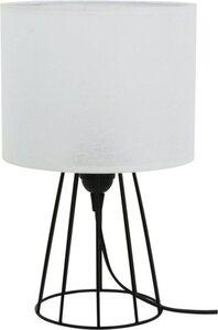 BRITOP LIGHTING Tischleuchte »LUCIE«, Mit Textilschirm und Gestell aus Metall, Schnurschalter, Passende LM E27 / exklusive