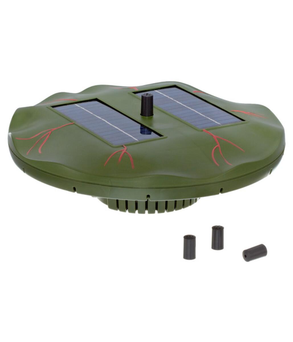 Bild 1 von Esotec Solarpumpe Seerose für den Gartenteich