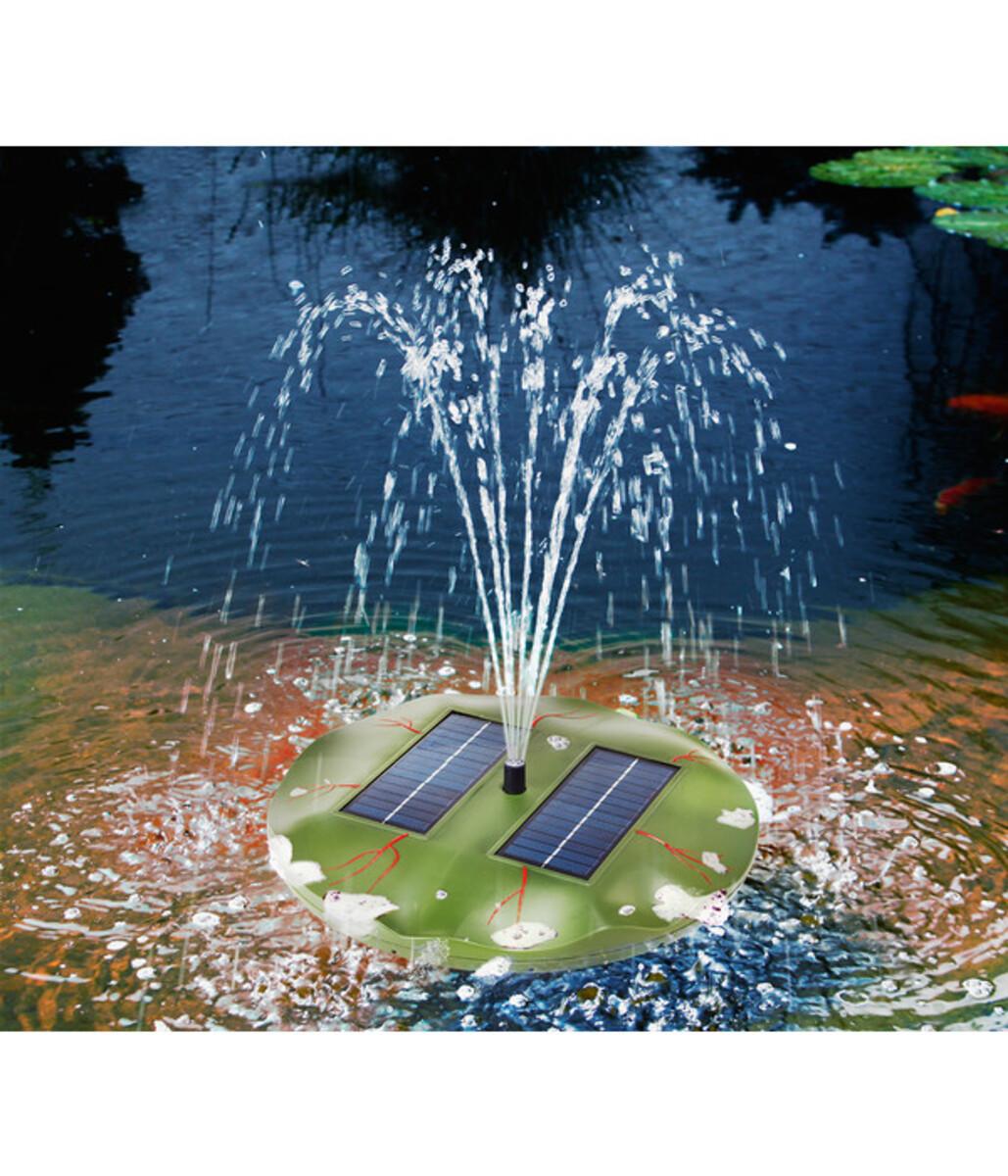Bild 3 von Esotec Solarpumpe Seerose für den Gartenteich