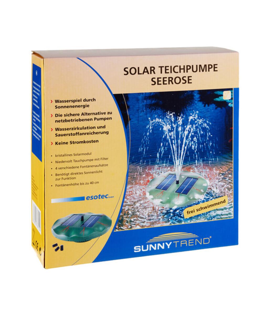 Bild 5 von Esotec Solarpumpe Seerose für den Gartenteich