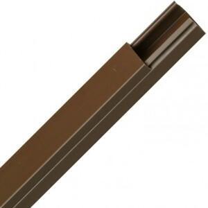 Kopp Kabelkanal 2 m, 30 x 15 mm, braun