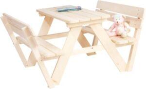 Sitzgruppe Nicki 2 Bänke mit 1 Tisch