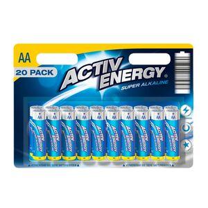 ACTIV ENERGY®  Batterien, 20er-Packung
