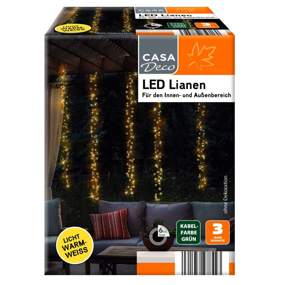 Bild 1 von CASA DECO LED-Lianen