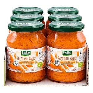 BioBio Karottensalat 190 g, 6er Pack
