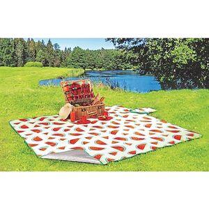XXL Picknickdecke - verschiedene Designs - Melone