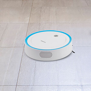 Saugroboter mit intelligenter Lasernavigation