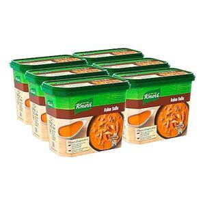 Knorr Rahm Soße ergibt 1,75 Liter, 6er Pack