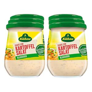 Kühne Sauce für Kartoffelsalat 250 ml, 6er Pack
