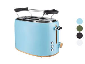 SILVERCREST® Edelstahl Toaster
