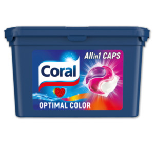 CORAL All in 1 Caps Optimal Color