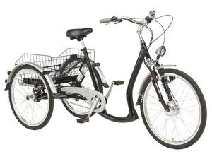 Wild Eagle Elektro-Dreirad 26/24 Zoll, schwarz