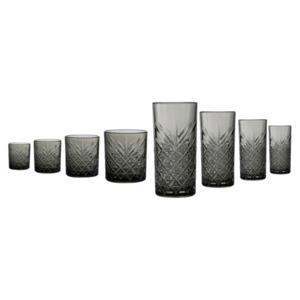 CreaTable Gläser-Set 23059 Serie Timeless Grau 8-teilig