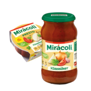 Mirácoli Pastasaucen oder Presto