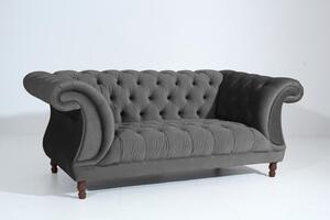 Max Winzer Ivette Sofa 2-Sitzer - Farbe: anthrazit - Maße: 200 cm x 100 cm x 80 cm; 2994-2100-2044214-F07