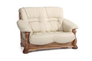 Max Winzer Tennessee Sofa 2-Sitzer - Farbe: beige - Maße: 148 cm x 95 cm x 95 cm; 2919-2100-9210002-F04