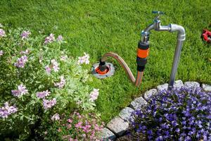 GARDENA Sprinklersystem Start-Set für Garten-Pipeline 08255-20