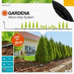 GARDENA Micro-Drip-System Start Set Pflanzreihen M Tropfrohr oberirdisch 13011-20