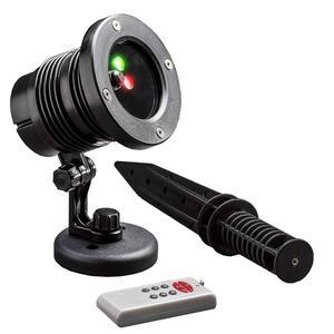 laserlampe weihnachtlich geführt 10 cm schwarz