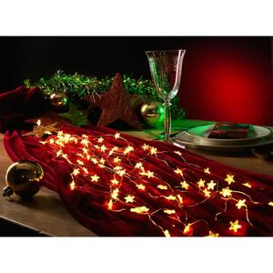 Konstsmide 6371-160 LED-Lametta Sterne LED Transparent Konstsmide