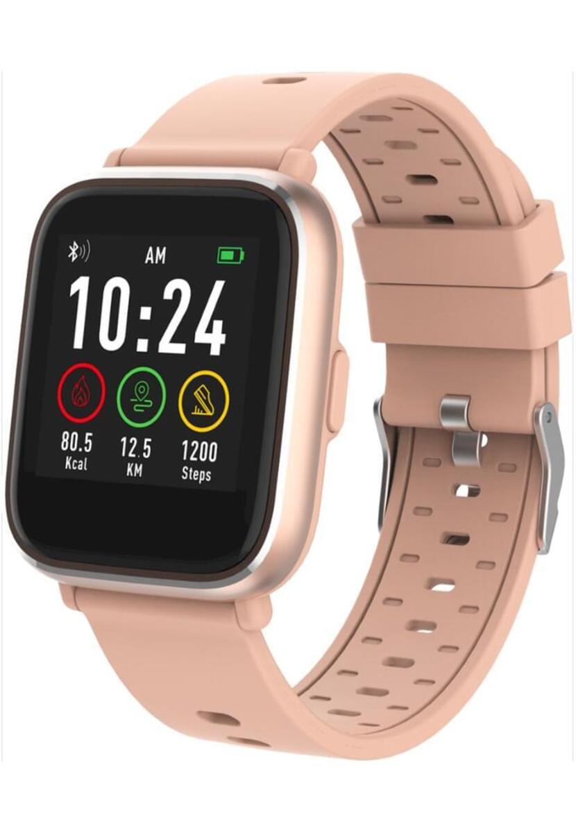 Bild 1 von Denver Smartwatch SW-161, Bluetooth, Farbe: Rose