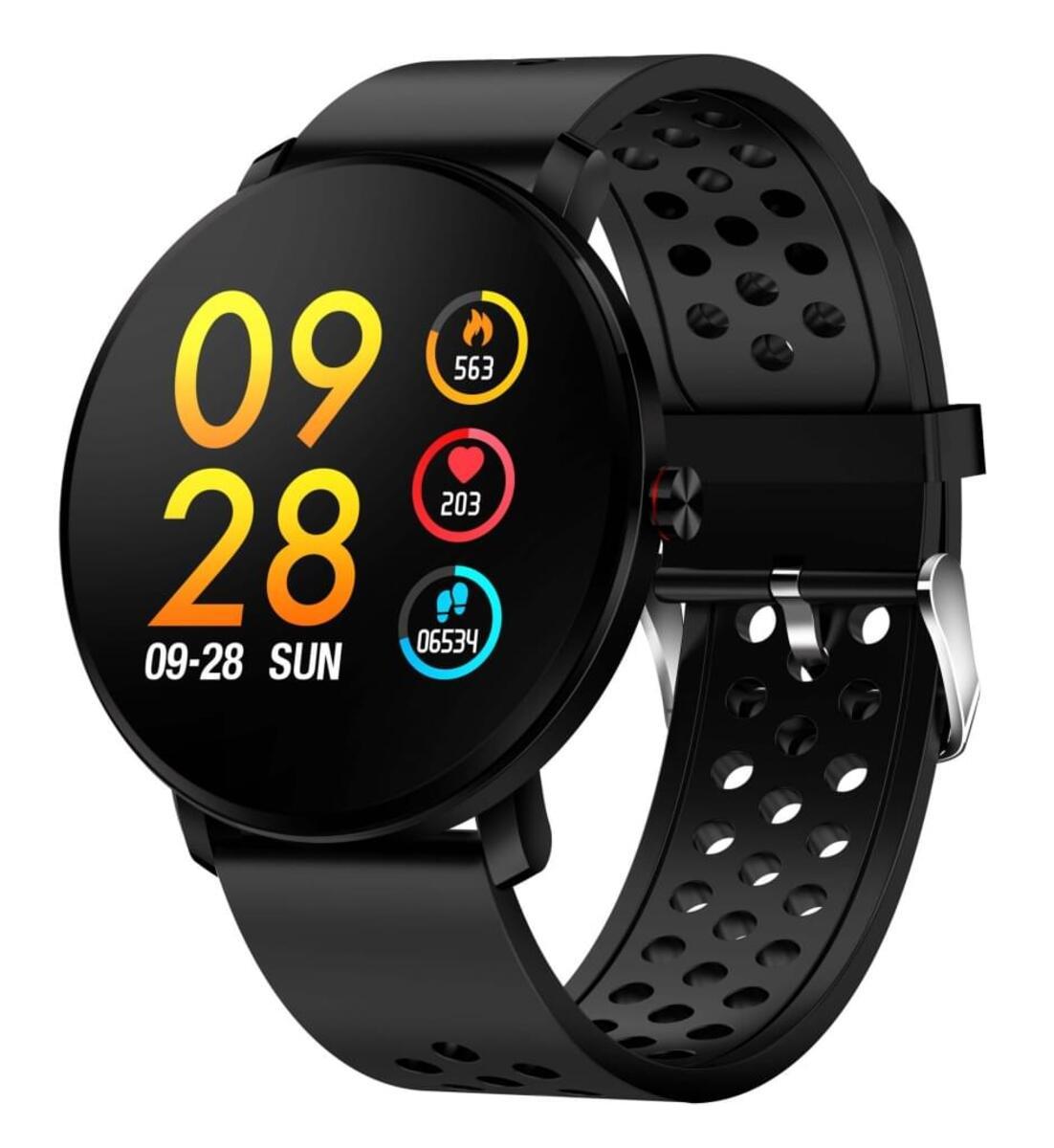 Bild 1 von Denver Smartwatch SW-171, Bluetooth, Touchscreen, Farbe: Schwarz