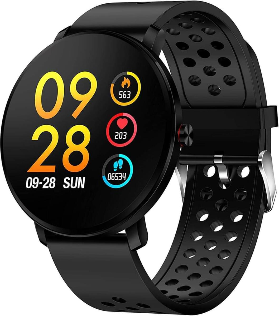 Bild 2 von Denver Smartwatch SW-171, Bluetooth, Touchscreen, Farbe: Schwarz