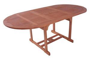 Garden Pleasure Ausziehtisch Boston 150/200x100 Eukalyptus Holz Tisch Esstisch