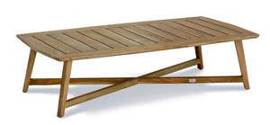 Best Gartentisch Couch Tisch Paterna 140x70cm Teakholz; 41393504