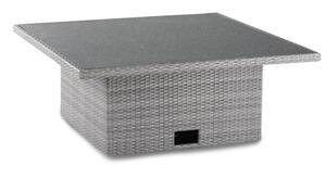 Best Lounge-Tisch Bonaire 120x120x43/66cm warm-grey; 48925603