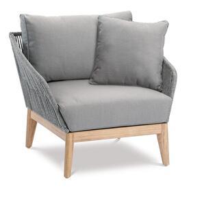 BEST Lounge Sessel Samos Grandis/grau, 52815067 braun