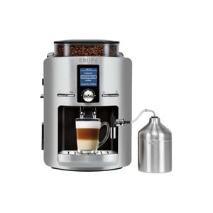 KRUPS EA 826E Kaffeevollautomat Aluminium/Schwarz