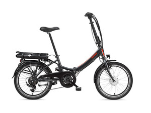 TELEFUNKEN Kompakt F810 Faltrad E-Bike 20 Zoll