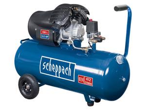scheppach Kompressoren-Set HC120dc, inkl. 15-m-Gewerbeschlauch und Schlagschrauber