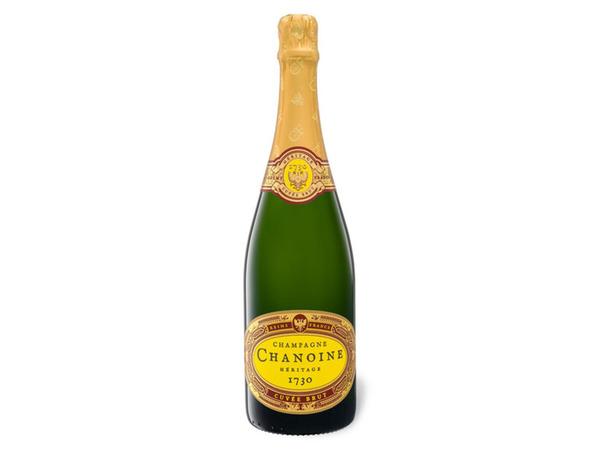 Champagne Chanoine Héritage 1730 Cuvée brut, Champagner