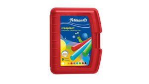 Pelikan Knetmasse creaplast 9 Farben in roter Box
