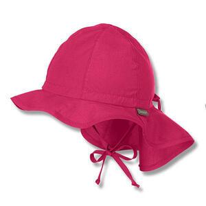 Sterntaler Hut mit Nackenschutz Pink 45  1511620 Flapper  Textil