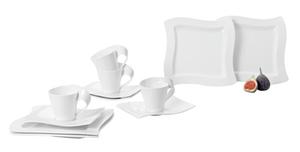 Villeroy & Boch Kaffee-Set 12tlg.  NEW WAVE
