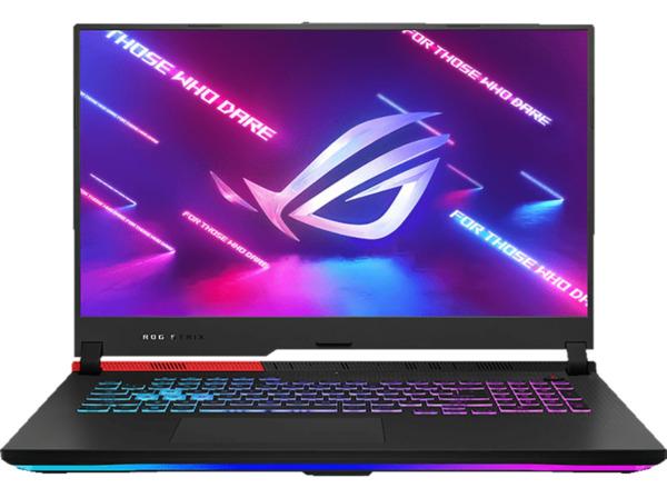 ASUS ROG Strix G17 G713QM-HX019T, Gaming Notebook mit 17,3 Zoll Display, Ryzen 9 Prozessor, 16 GB RAM, 1 TB SSD, GeForceRTX™3060, Original Black